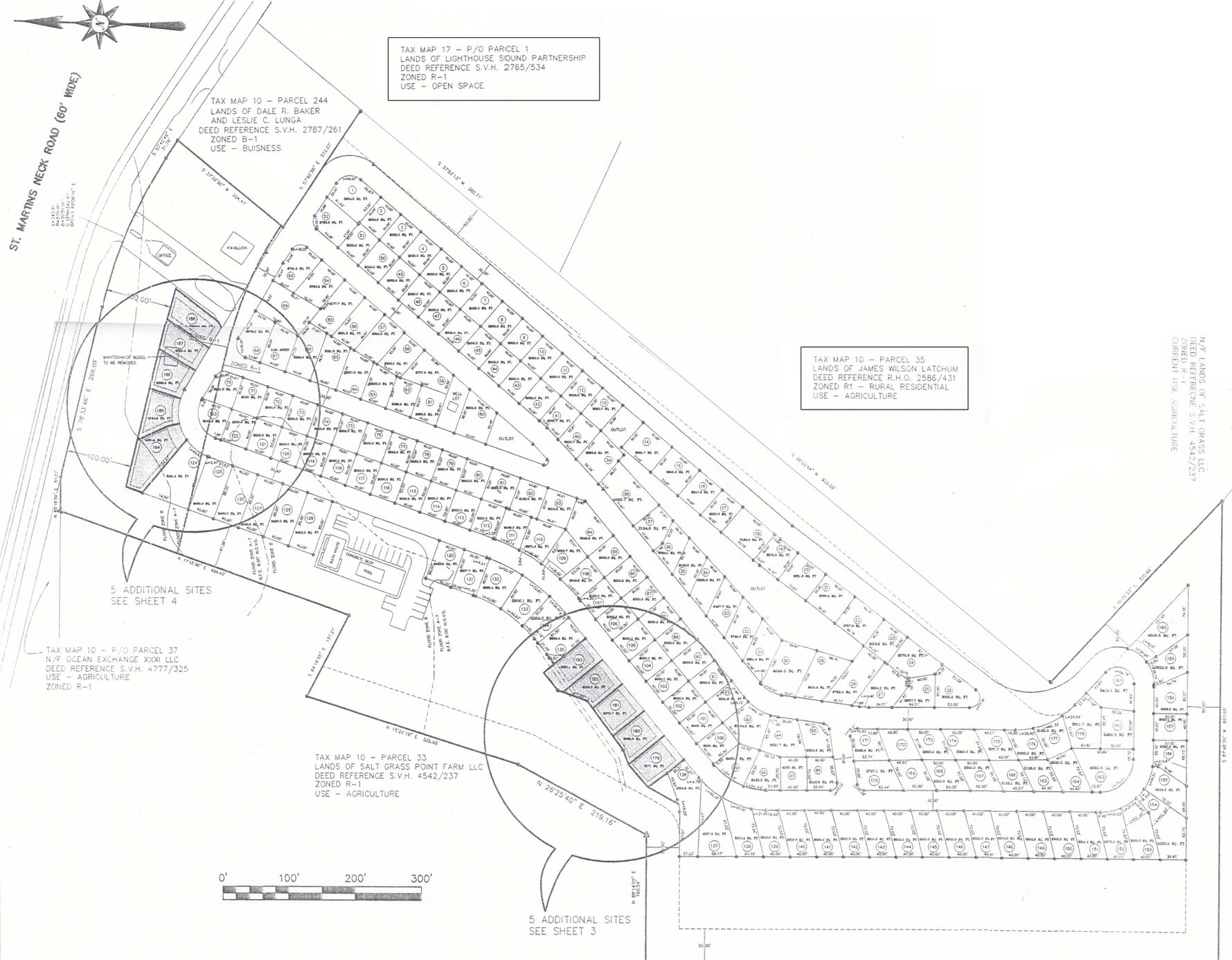 site plans bali hi rv park